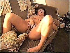 Yvonne opens her legs