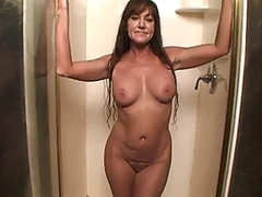 Naughty milf dripping wet pussy fuck