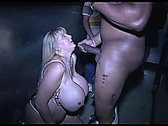 Kayla Kleevage In Blackman Cum