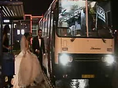 Bride on the road