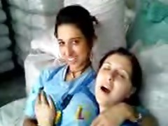 Turkish lesbian at work