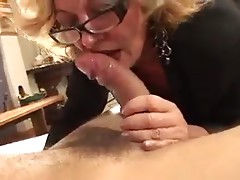 Horny Mature Blonde Francesca Torri Fucks Young Guy