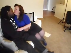 White mature fucked by BBC