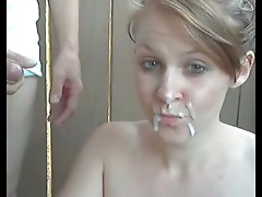 Amateur daugther and NOT her dad on webcam