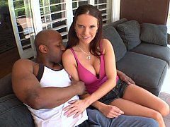 Black cock for Jennifer Dark