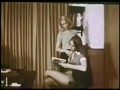 Vintage Catfight Bondage