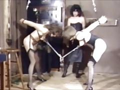 mistress tortures slaves