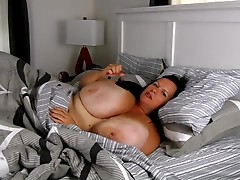 BBW Milf in bed - Bigger