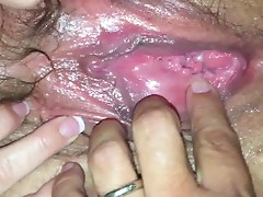 Mature milf BBW hairy pussy dripping wet