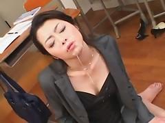 Bukkake Teacher Sayuri Shiraishi