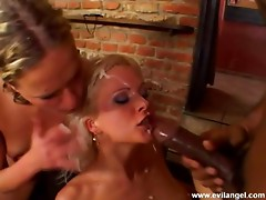 A strict anal screwing affair featuring two lovely blondes