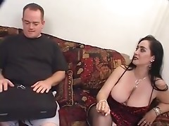 Busty MILF Slut Raven Creampie Threesome