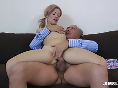 Matured cock make hot hard sex with her
