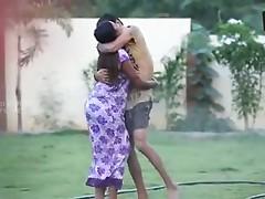 Telugu Girl Swathi Naidu Romancing with a guy