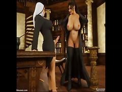 Dickgirls 06: Gisela and Sara