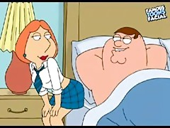 Peter Griffen and Lois Toon Porn