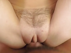 POV anal sex with amazing brunette