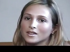 Casting with superb blond