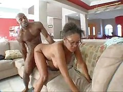 Mature black woman fucks sons best friend