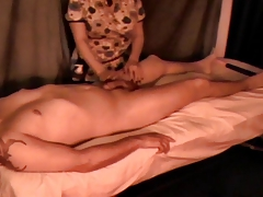 Happy Ending Massage Caught on Hidden Cam 14