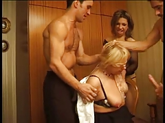 French Mature Orgy