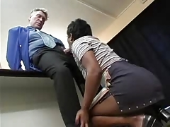 Old Boss and young Maid (german) -F70