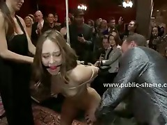 Slave is forced to have rough sex