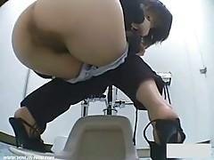 Voyeur toilet japan shock 3 free (Force Entry Shocking Restroom)