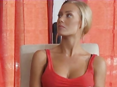 Blonde mommy fucks her daughter's boyfriend