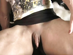 Female bodybuilder with incredibly tasty huge clit!