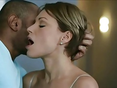 Classy White Wife sensual fuck with Black Lover
