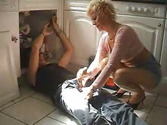 Milf Fucks Plumber by snahbrandy