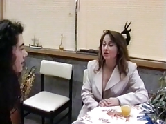 French mature hairy housewife & girl friend