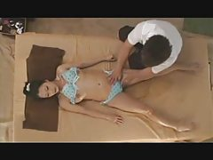 The young wife's massage in the beach-house(short version)
