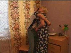 horny Mom Seduces Her Son's friend