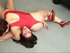 Wrestling Lounge -  Stefanie vs Natasha