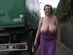 Solo #2 (Mature BBW with Big Boobs)