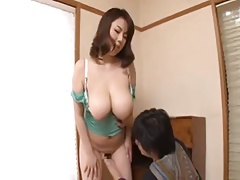 Busty japanese mom(Rin Aoki)-1