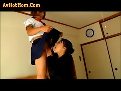 Japanese femdom sister tease and facesits sissy NOT brother