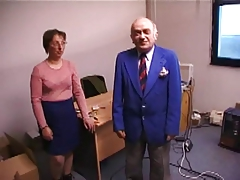 Amateur French Wife Sucks And Fucks Old Man !