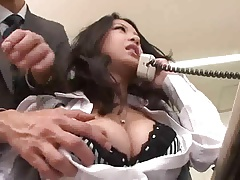 SAtomi Suzuki - Pretty Japanese Office Girl