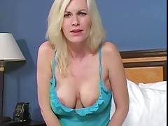 Aunt Brandi Catches You Jacking Off
