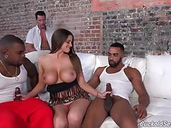 Brooklyn Chase interracial cuckold