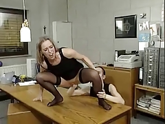fisted held down and ass fucked