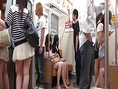 Jap Teen Secretary Gangbanged In A Stimulated Train (720p)