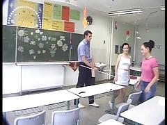 Ghettoschlampe Freundin mit Lehrer und Freund