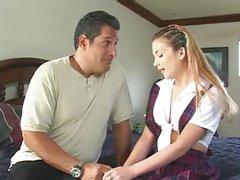Teen Babysitter Sabrina Jade Does Daddy M27