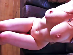 Playful brunette is doing anal for the 1st time