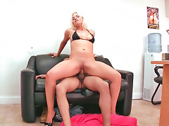 Dirty amateur blonde Cameron gets fucked hard