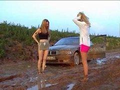 Catfight Girls Catfight In The Mud